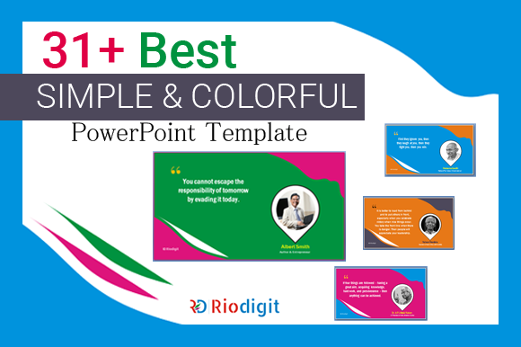 31 best simple colorful powerpoint template riodigit simple colorful powerpoint template toneelgroepblik Images